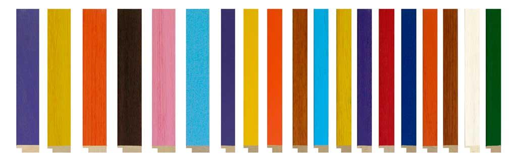 molduras de colores